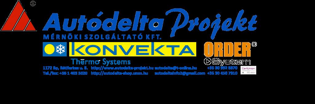 Autódelta Projekt Haszonjármű Divizió - Buszklíma & Raktérhűtés Szerviz Budapest 17. - Autóklíma alkatrész & Buszklíma alkatrész SHOP - Order Systems járműberendezések - Konvekta klíma - Konvekta raktérhűtés - 06-30-9928-870